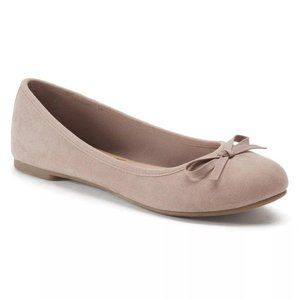 SO Shoes - SO Taupe Ballet Flats 6 (NWT)